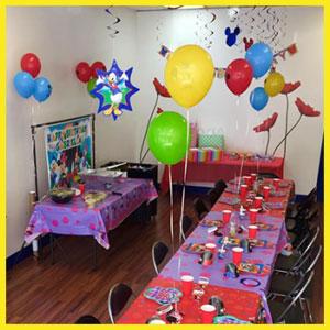 kids birthday party lake charles, la